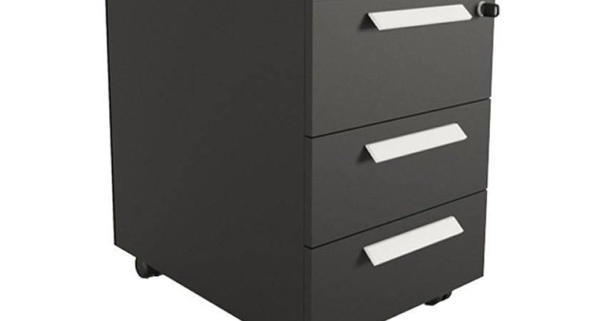 Buronomic Mobile Pedestal Box Drawers Radius Office