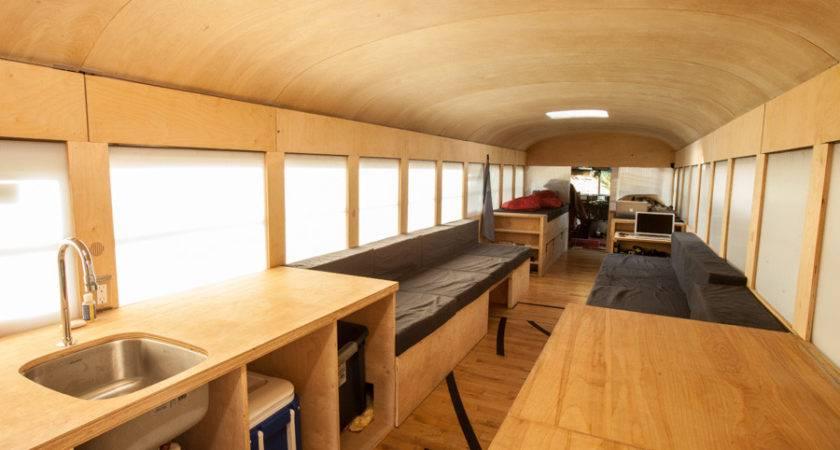 Bus Home Inside Interior Design Ideas