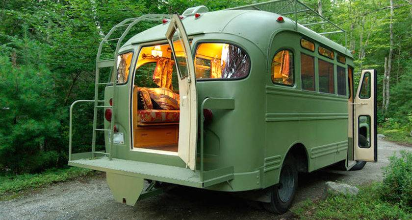 Buses Transformed Into Incredible Homes Wheels