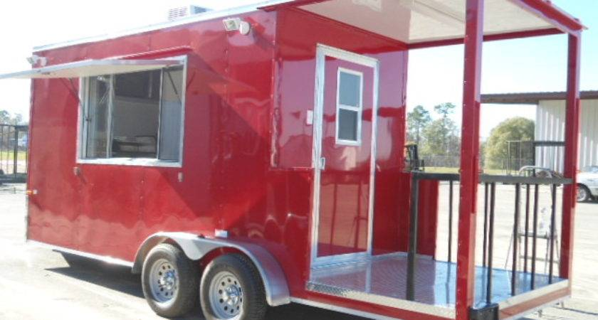 Buy Sell New Used Trailers Red Hot Bbq Porch