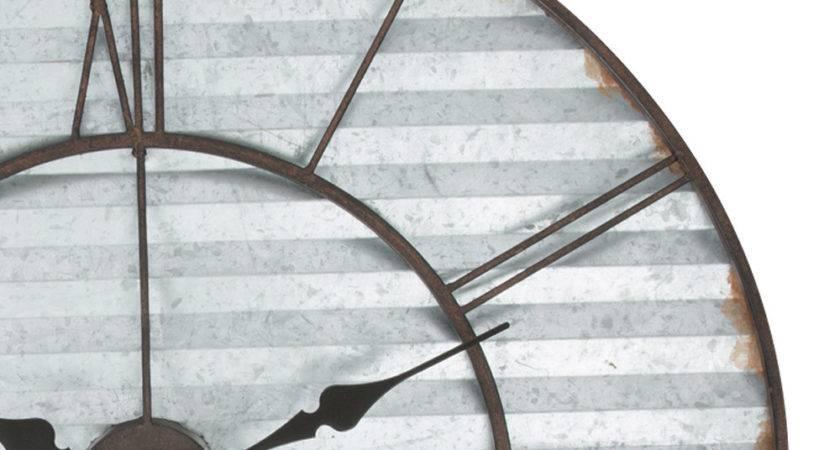 Buy Warwick Industrial Sheet Metal Wall Clock