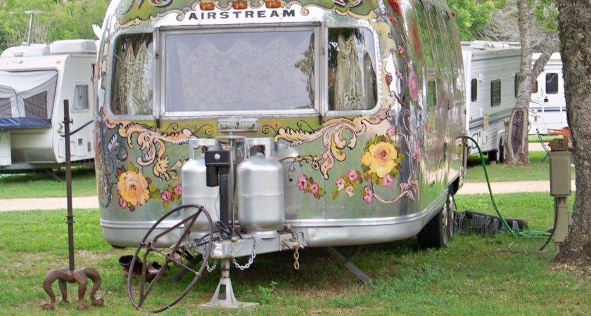 Bylightofmoon Ebay Vintage Tiny Travel Trailer Park