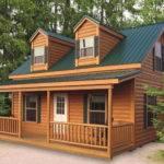 Cabin Mobile Homes Aesthetic Design Good Comfort