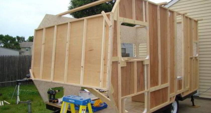Cabinet Kitchen Build Camper Trailer Display
