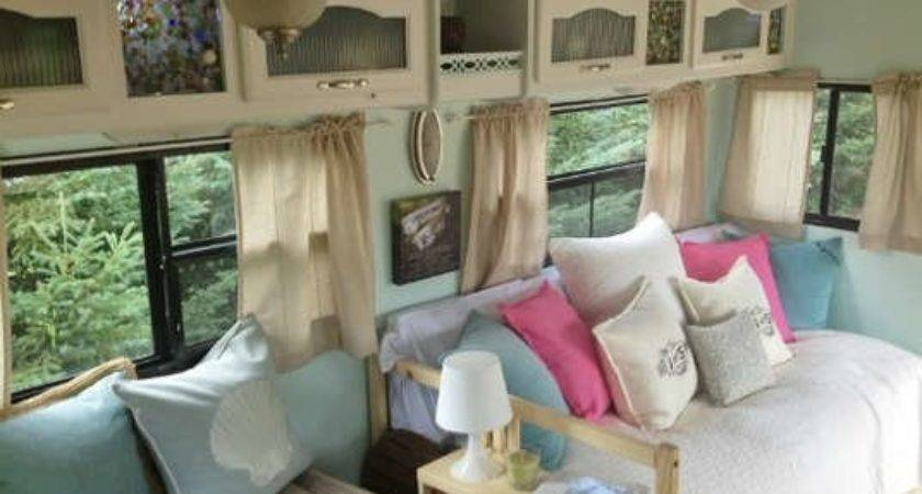 Camper Makeover After Vintage Trailers Amazing