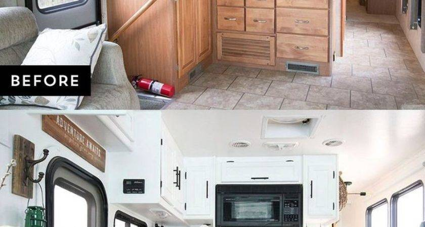 Camper Remodel Ideas Remodeling Camping