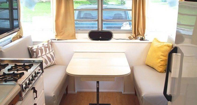 Camper Renovation After Interior