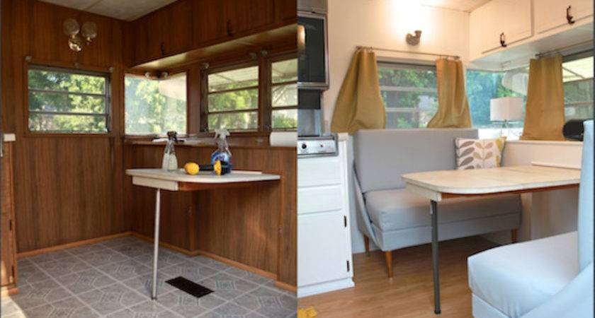 Camper Renovation Before After Diykidshouses
