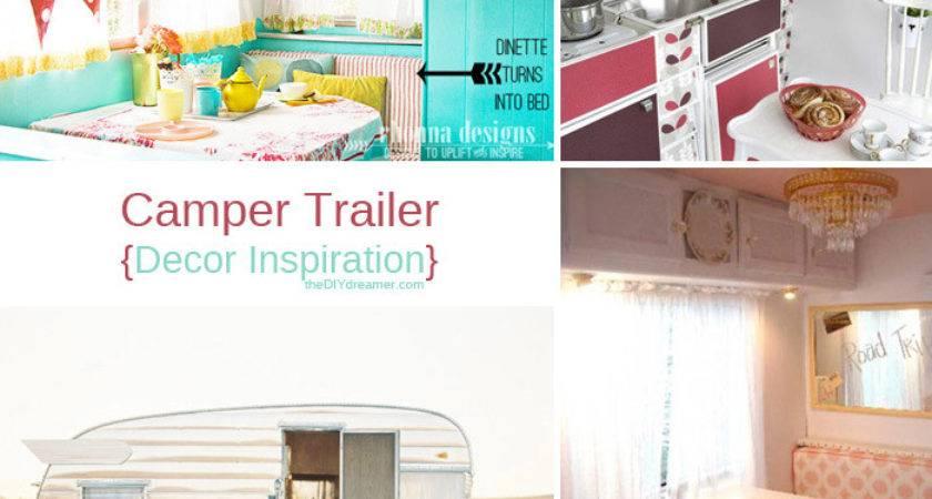 Camper Trailer Design Ideas Luxury Pink