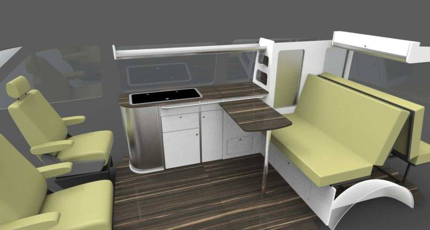 Campervan Flat Pack Furniture Units Transporter