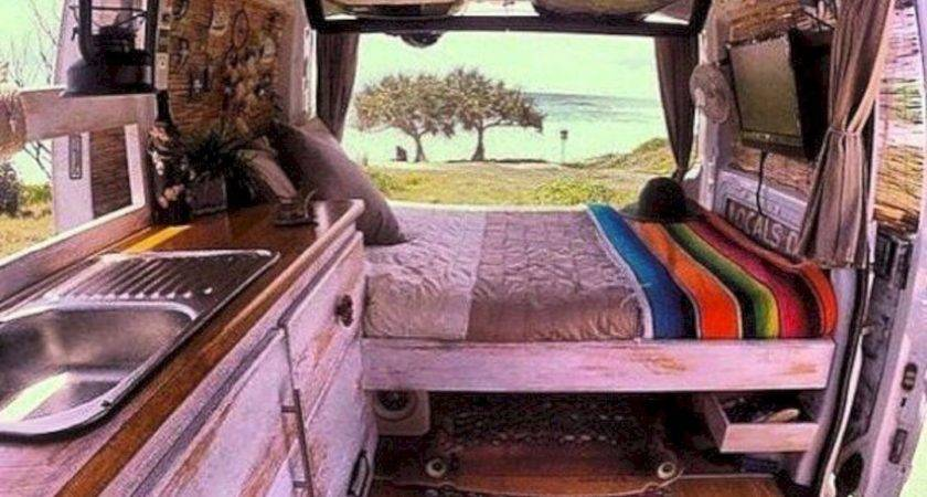 Campervan Interior Design Ideas Cozy Camping Time