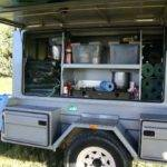 Camping Kitchen Trailer Perfect Kitchens Intended