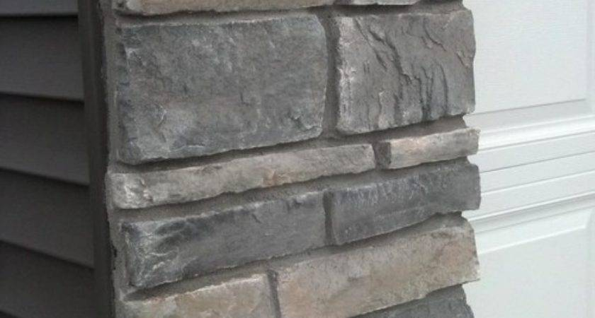 Can Find Dark Gray Vinyl Siding Stone