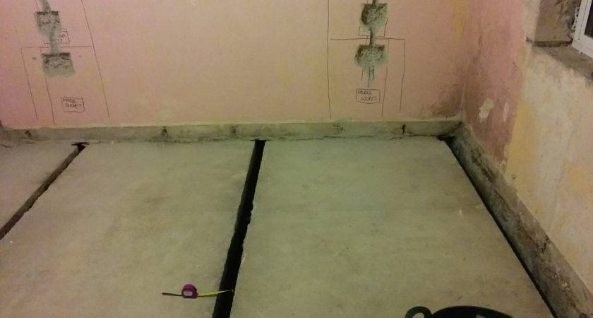 Can House Internal Concrete Floor