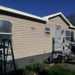 Can Paint Mobile Home Yes