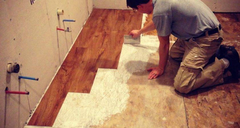 Can Put Vinyl Tile Top Sheet Flooring
