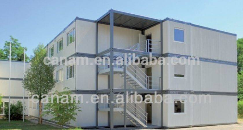 Canam Flat Pack Modular Durable Single Wide Mobile Home