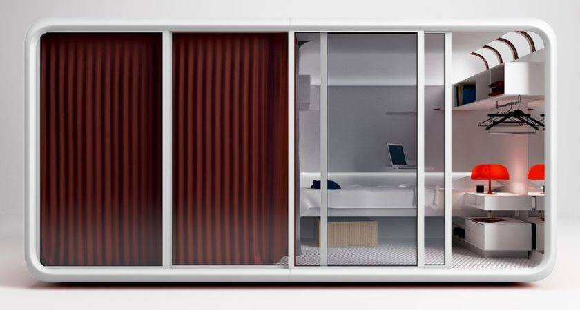 Cannondesign Shoehorns Entire Dorm Room Into Tiny Pod