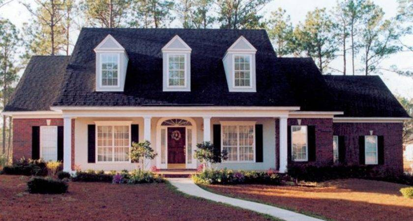 Cape Cod Brick Front Home Sweeping