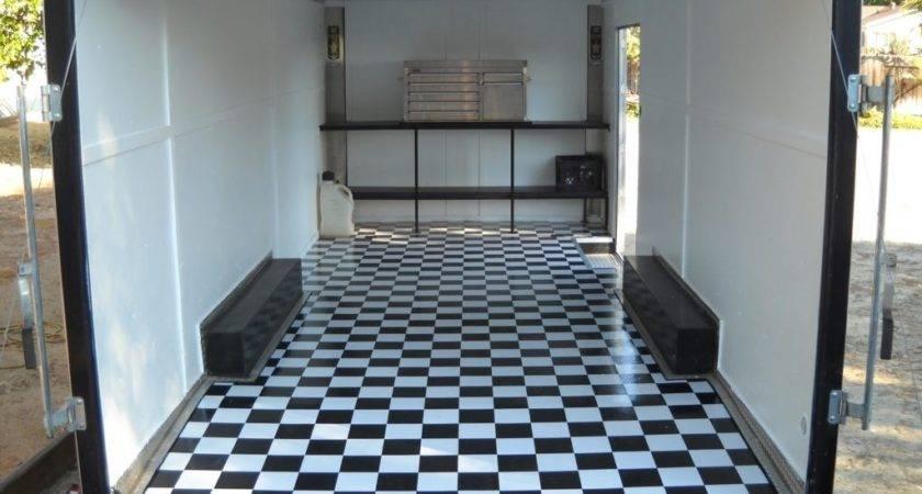 Cargo Trailer Flooring Ideas Floor Plans