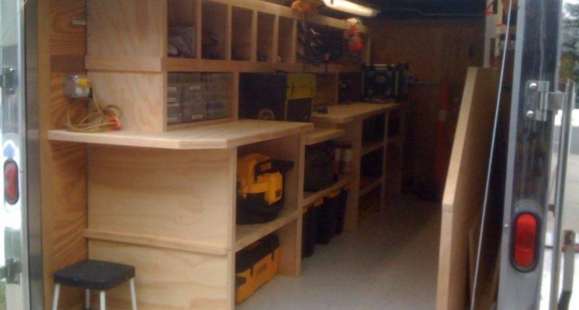 Cargo Trailer Ideas Tools Equipment Contractor Talk