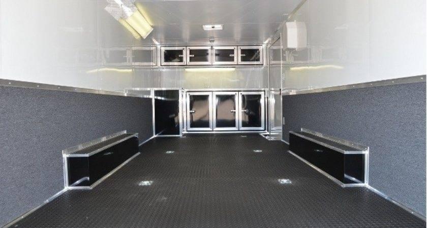 Carpet Walls Enclosed Cargo Trailer