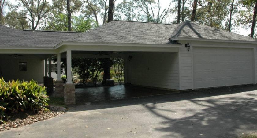 Carport Garage Remodeling Additions Houston Woodlands