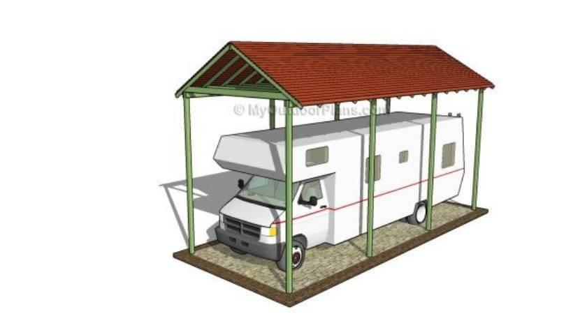 Carport Plans Myoutdoorplans Woodworking