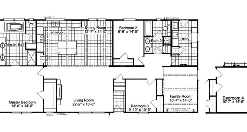 Carrington Manufactured Home Floor Plan