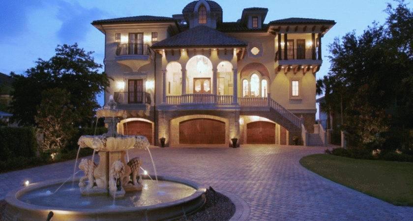 Castle Luxury House Plans Manors Chateaux Palaces