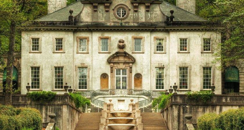 Catching Fire Filming Swan House Atlanta Hunger Games