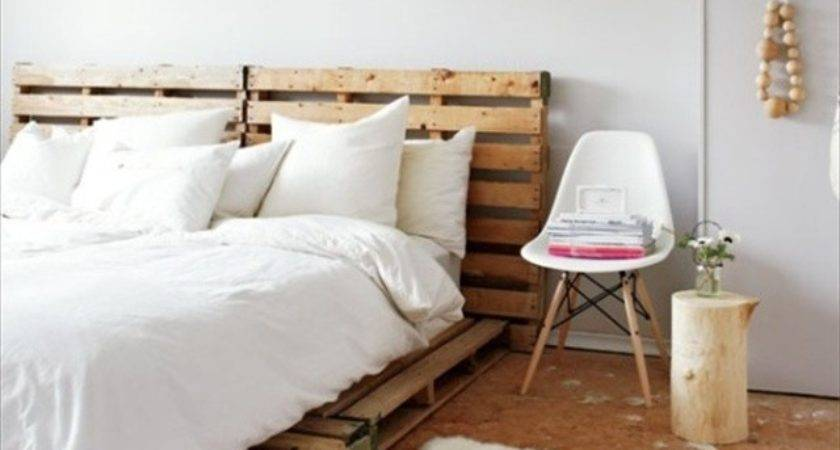 Catchy Distinct Style Pallet Bed Diy Wooden