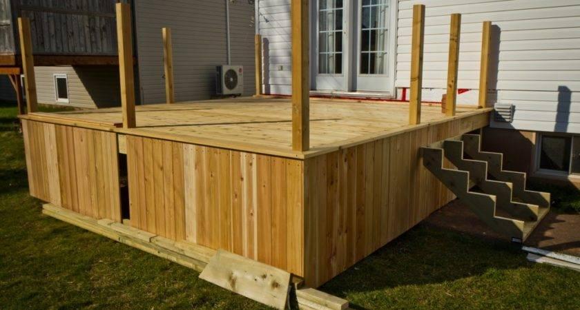 Cedar Deck Skirting Ideas Jbeedesigns Outdoor
