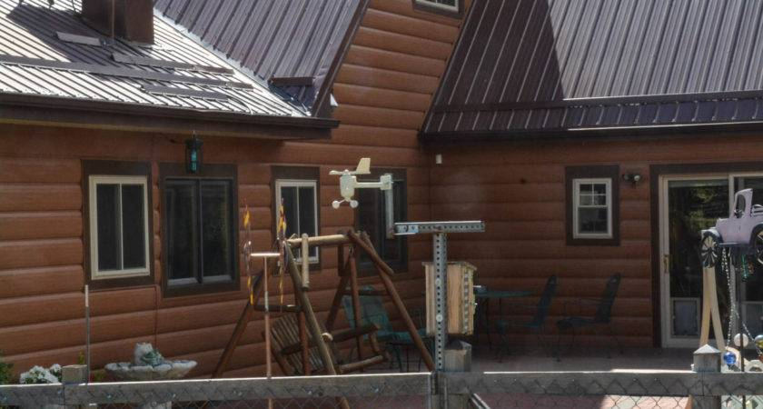 Cedar Log Cabin Siding Maintenance