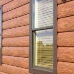Cedar Log Siding Home Steel