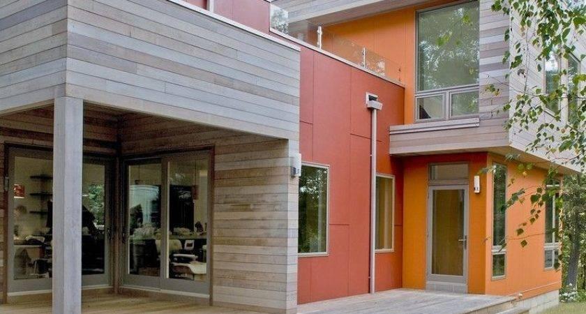 Cedar Siding Contemporary Exterior Also Board