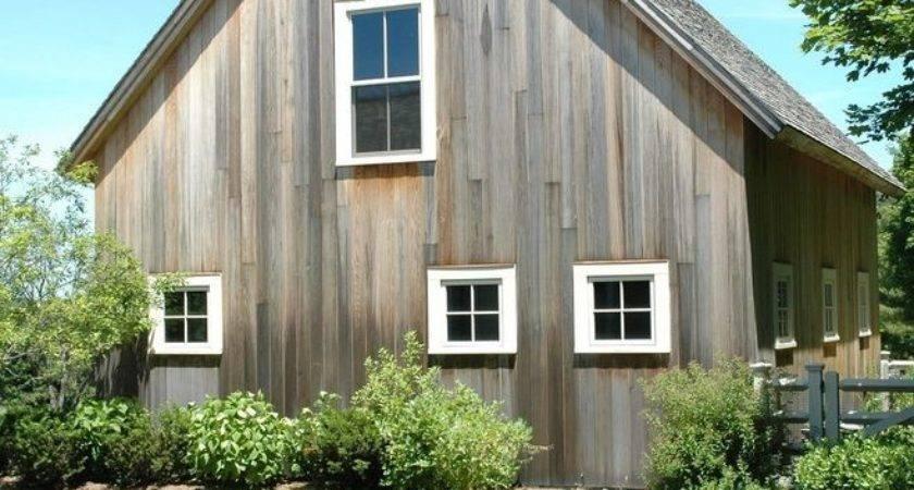 Cedar Siding Farmhouse Shed Also Frame Barn