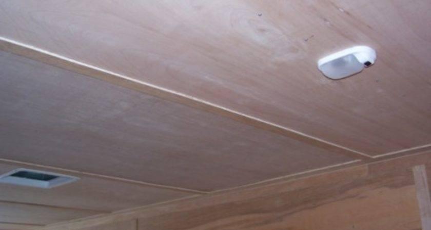 Ceiling Wood Luan Liner Trailer Length