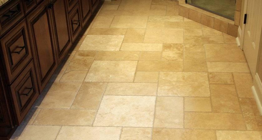 Ceramic Flooring Tile Black Cabinet Using Granite