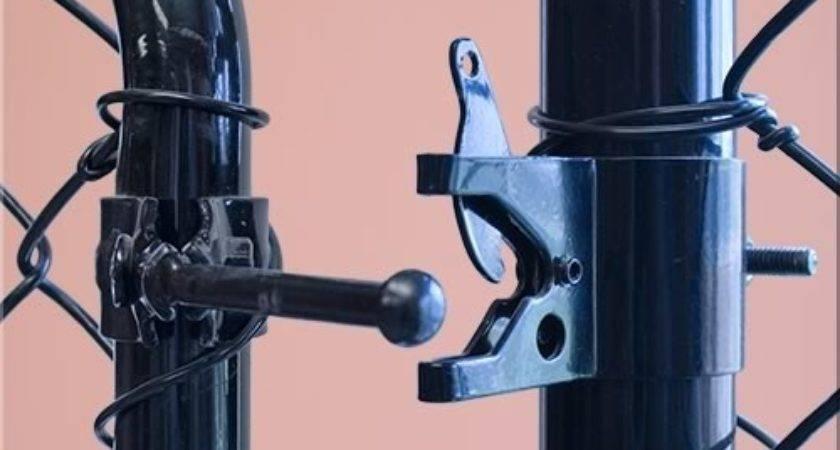 Chain Link Fence Gate Lock Imgkid