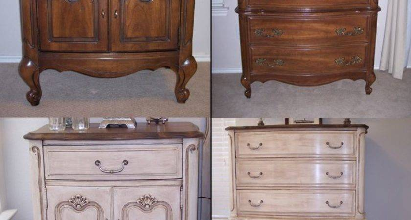 Chalk Paint Furniture French Provencal Before