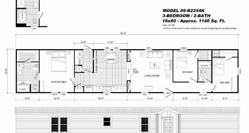 Champion Homes Single Wide Floor Plans