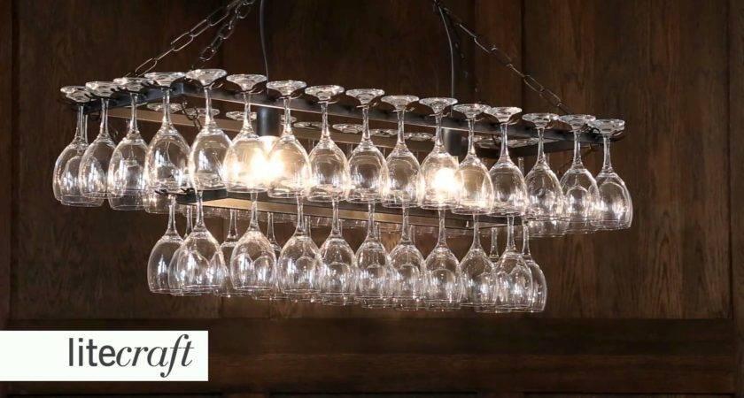 Chandelier Light Wine Glass Closdurocnoir