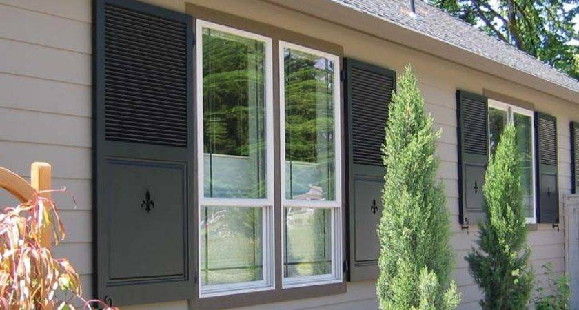 Change Look Your Homes Exterior Shutters
