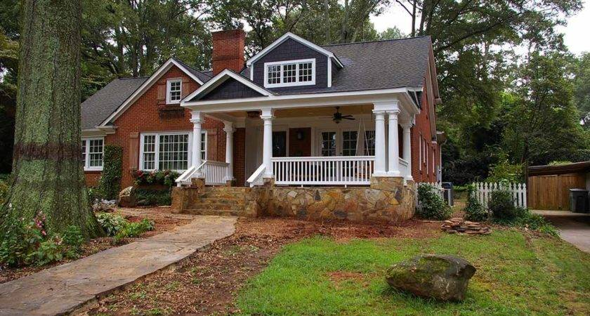 Charlotte Front Porch Addition Add Curb Appeal
