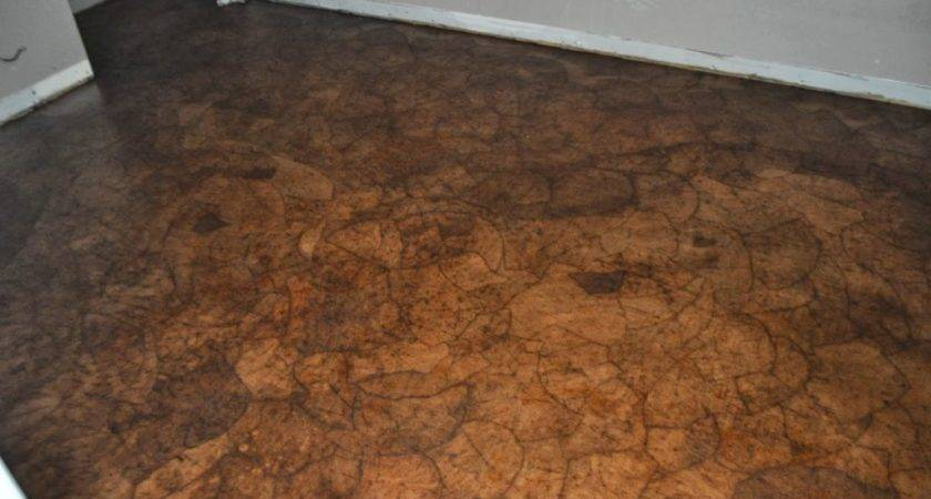 Charming Brown Pattern Paper Bag Floor Design Ideas