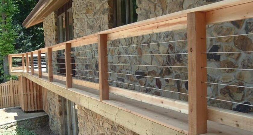 Cheap Deck Railing Ideas Architectural Design