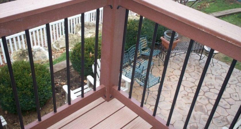 Cheap Deck Railing Ideas House Design Plans
