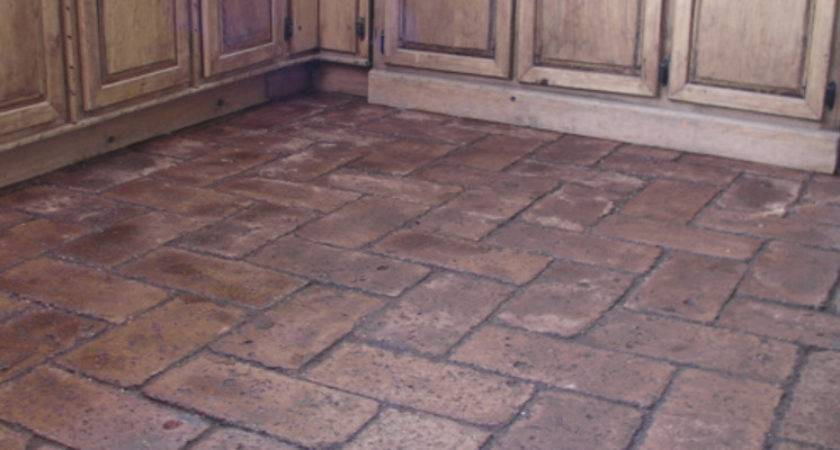 Cheap Easy Brick Floors