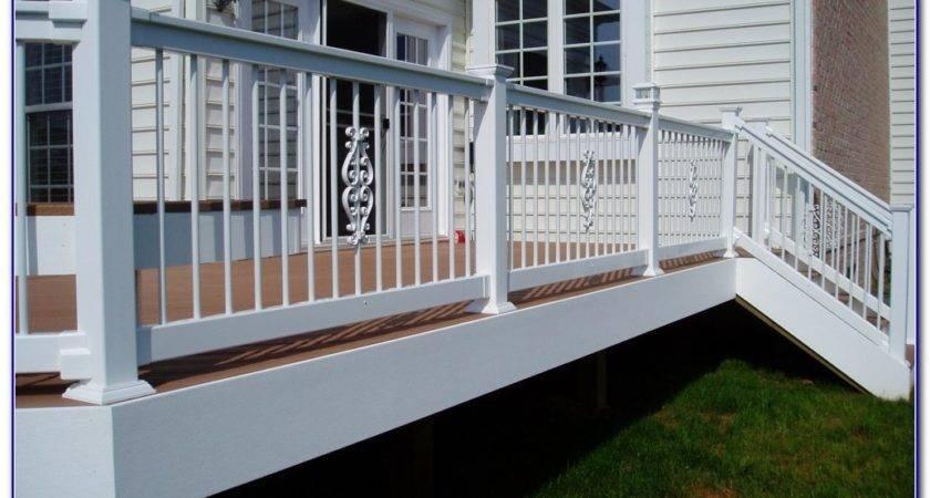 Cheap Easy Deck Railing Ideas Decks Home